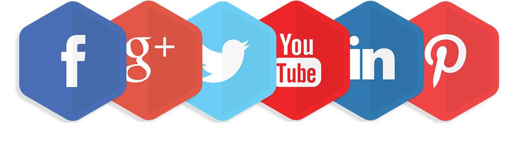blocs réseaux sociaux hexagone